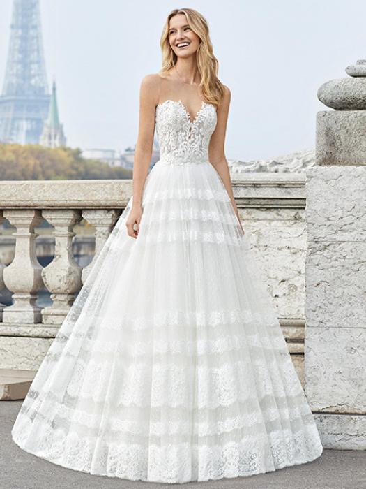aire barcelona - ensayo - vestido de novia en 2019 | vestidos de