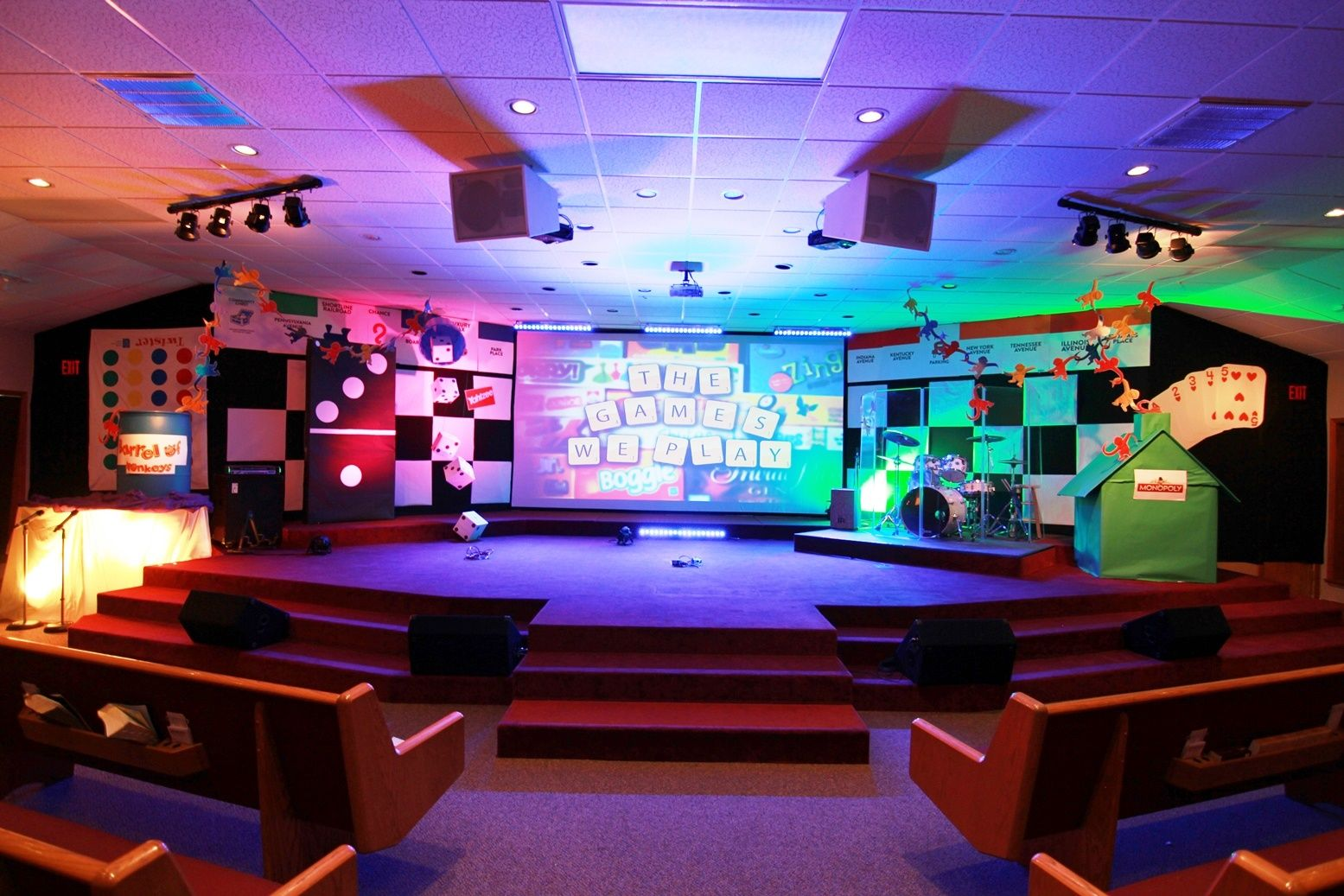 Pin by zemn on Stage Design Church stage, Church stage