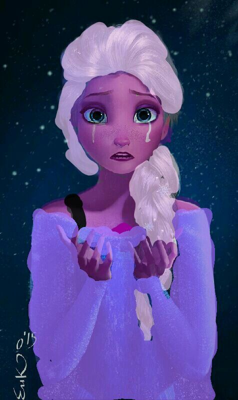 Probably the worst edit of elsa as amethyst i ever made..
