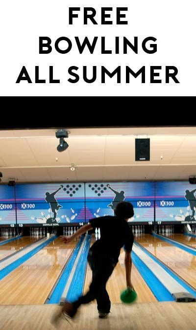 2 Free Games Of Bowling Every Day For Children All Summer Long Bowling Free Games Children