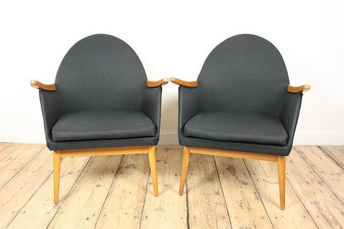Stupendous Upholstered Armchairs Mid Century Modern Vintage Lounge Ibusinesslaw Wood Chair Design Ideas Ibusinesslaworg