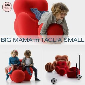 YoYo atelier | UPJ: BIG MAMA IN TAGLIA SMALL  #bigmama #design #upj #upjunior #gaetanopesce #beb #kidsdesign #poltronaup . Click through right now to read the entire post!