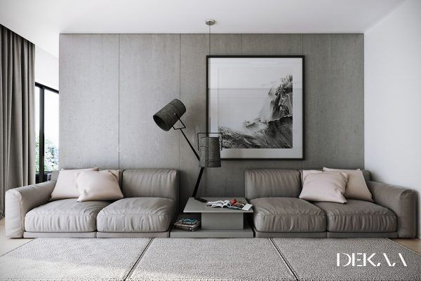 Awesome Donu0027t Be Afraid Of The Dark: 4 Lovely Homes With Strong Grey Accents
