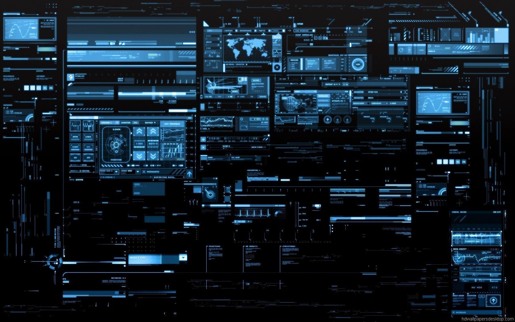 Interface Wallpaper Desktop Wallpapers Computer