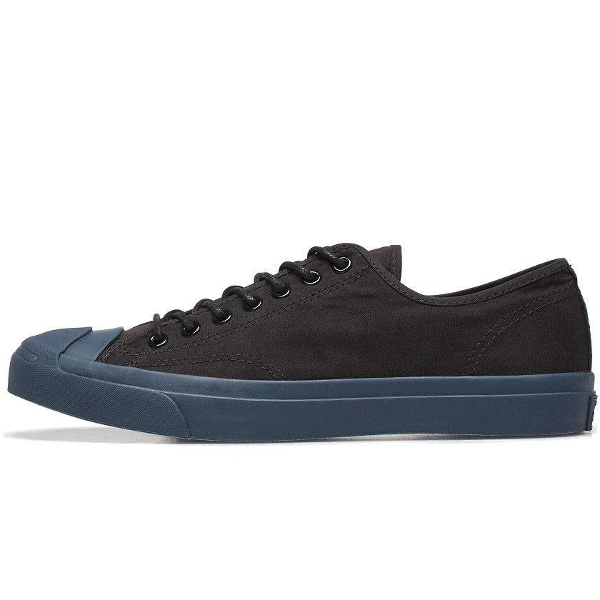 80191a6992cf Converse Jack Purcell Ox Black Textile Sneakers in Black for Men ...