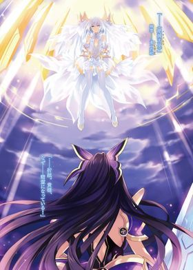 Metal Poster Origami Angel