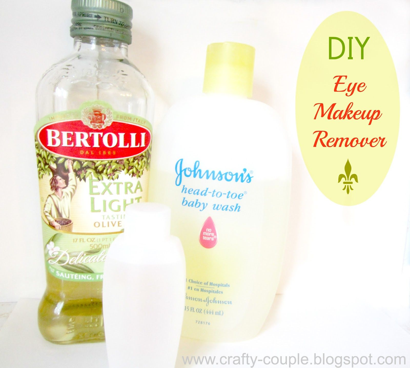 crafty couple How To Make Your Own Eye Makeup Remover