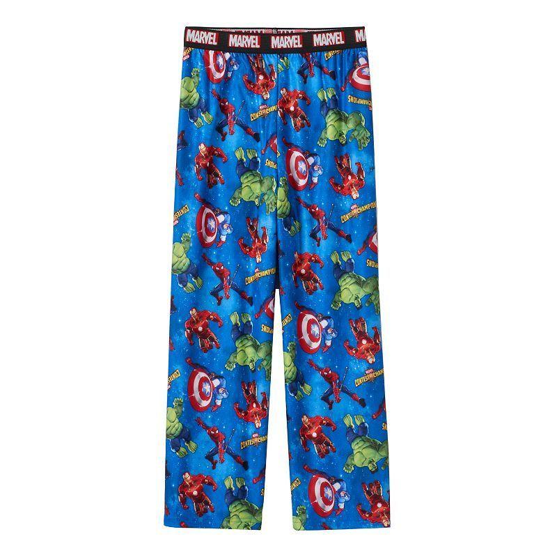 Boys 4-16 Marvel Avengers Lounge Pants, Boy's, Size: 6-8, Blue