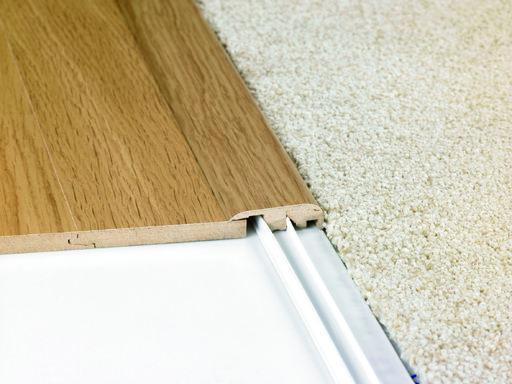 Quickstep Matching Incizo Threshold For Laminate Floors 2 15 M Quickstep Laminates Carpet To Tile Transition Laminate Flooring Transition Flooring