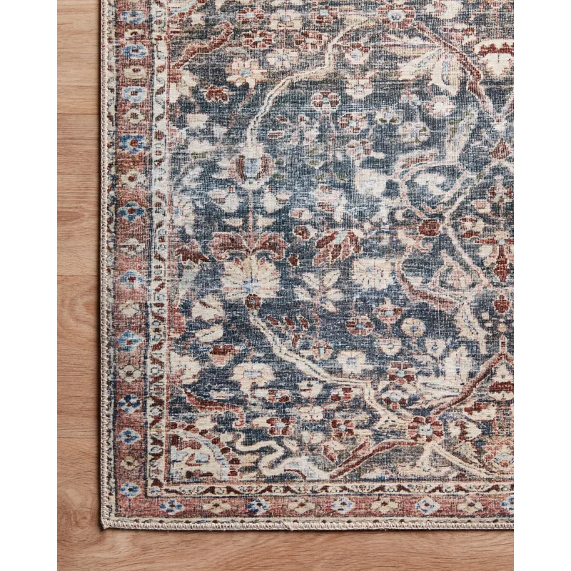 Jules Oriental Denim Spice Area Rug In 2021 Area Rugs Chris Loves Julia Area Rug Collections