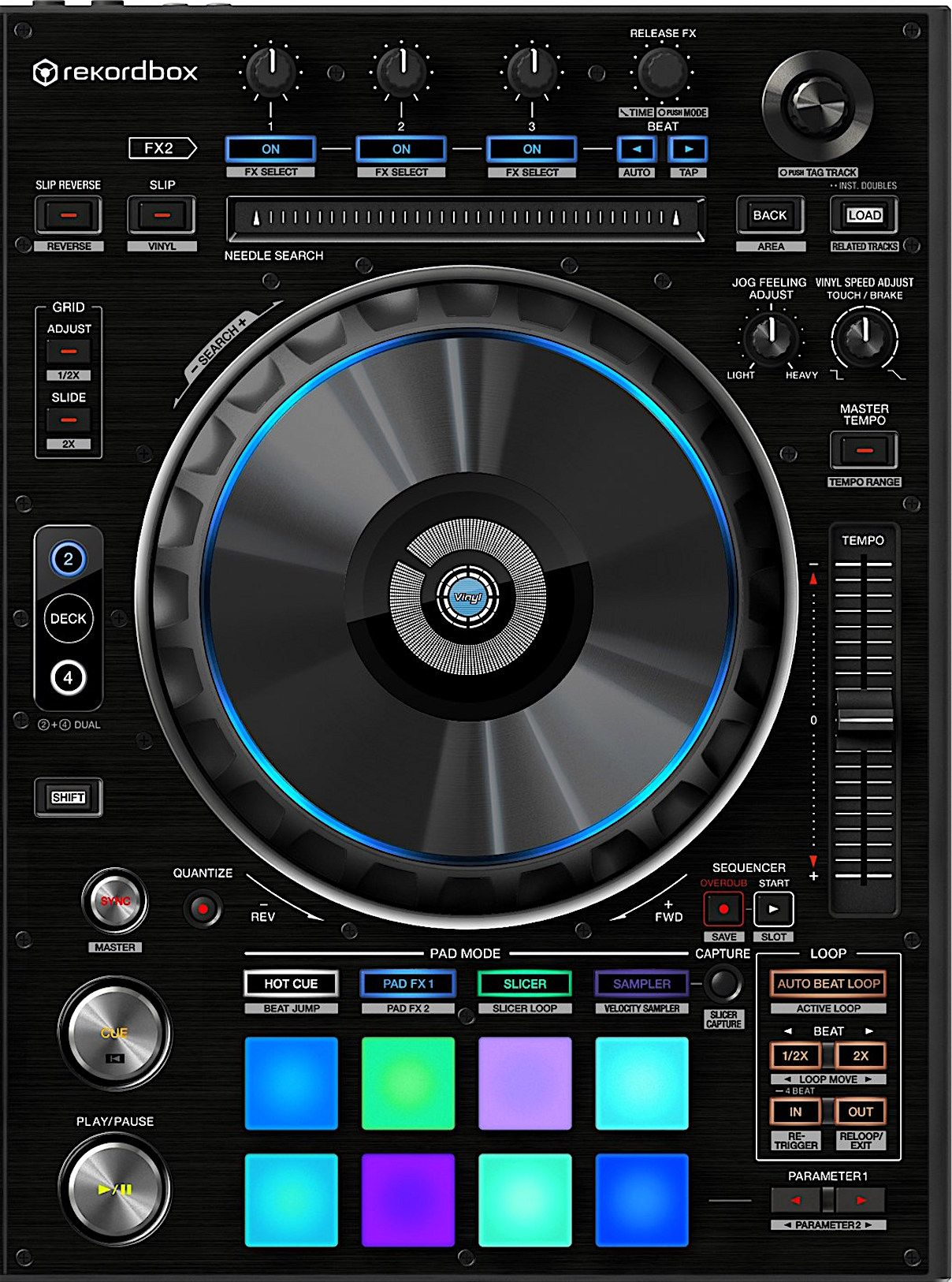 Pioneer Dj Ddj Rz Controller Review With Images Pioneer Dj