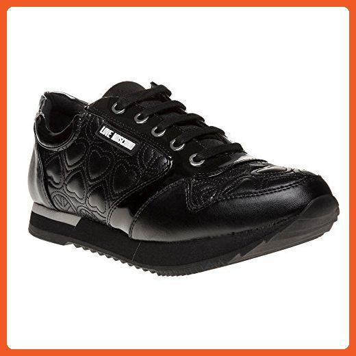 0ea3d2c10b1ff Love Moschino Runner Womens Sneakers Black - Sneakers for women ...