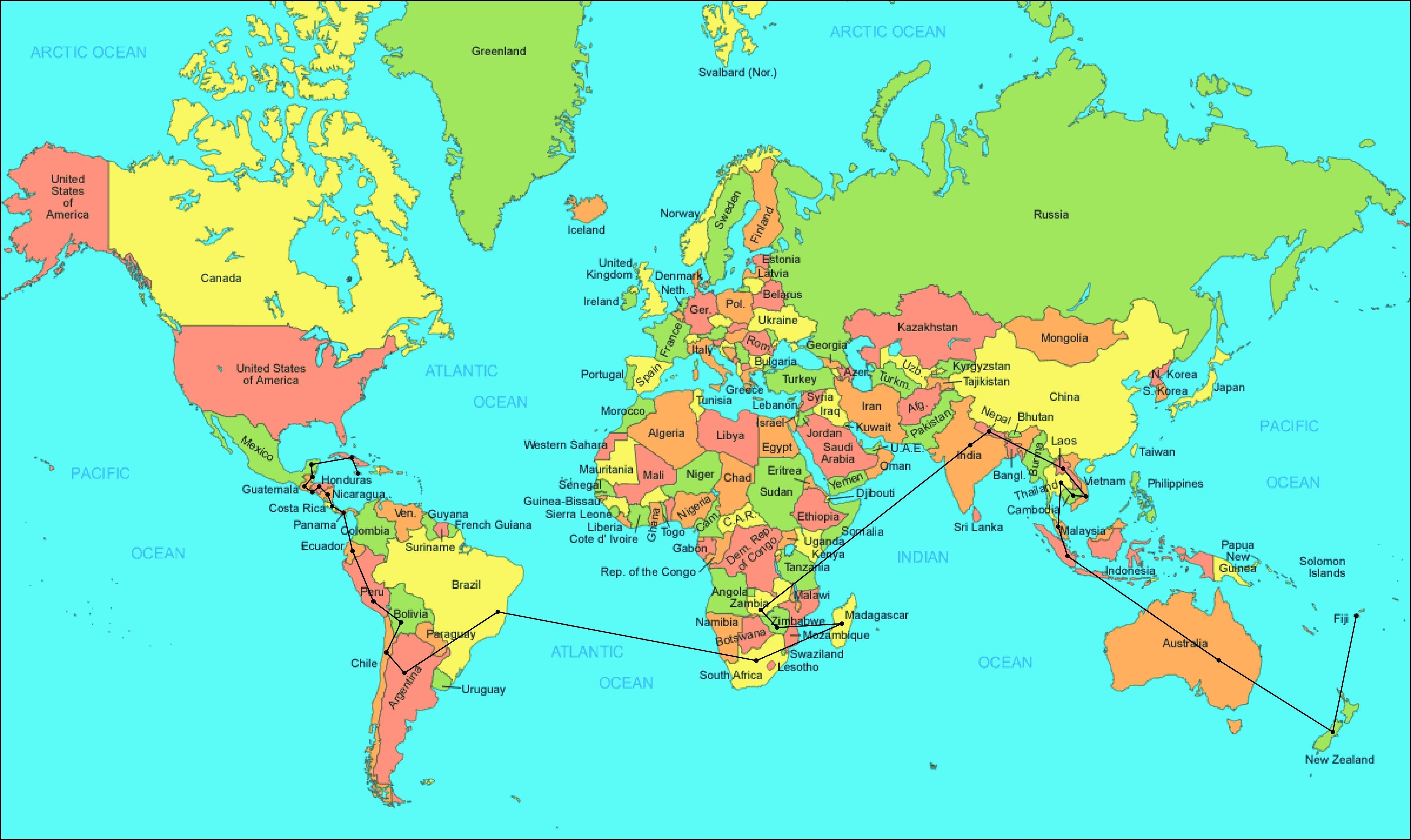 worlds maps archives best world map