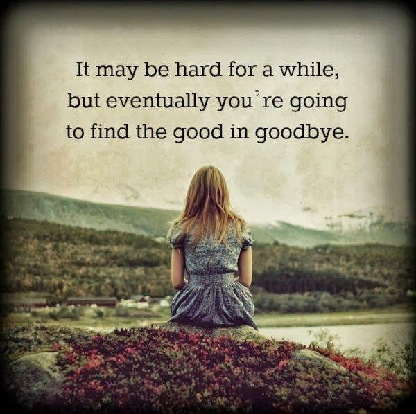 1000 Ideas About Sad Sayings On Pinterest: Good-in-goodbye-sad-love-quotes.jpg (600×598)