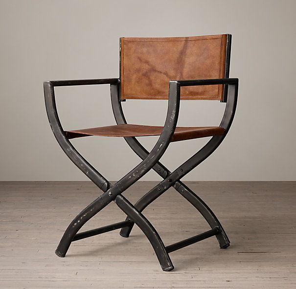 1970s French Director S Chair Restoration Hardware Dining Chairs