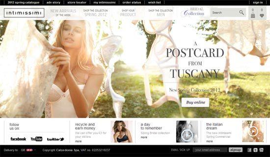 cce92f6fa8 INTIMISSIMI - Tienda Online - Toda la gama Intimissimi a su disposición  durante todo el día. Compra ropa interior y accesorios en línea de la tienda  oficial ...