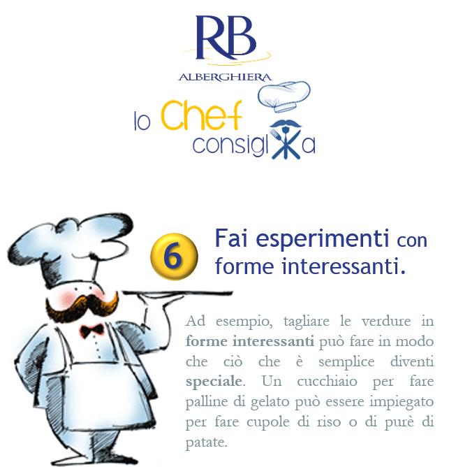 Lo Chef consiglia... N°6 Fai esperimenti con forme interessanti. #lochefconsiglia #impiattare #RBAlberghiera #RB #Varese