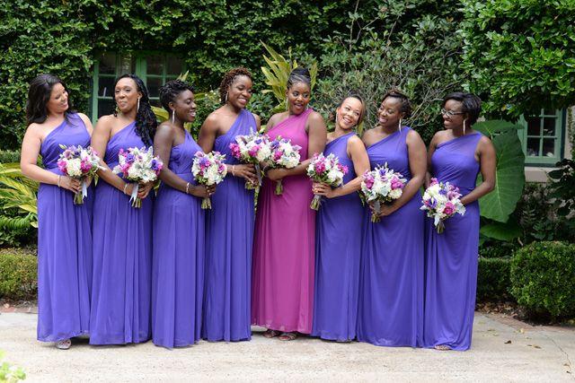 Violet Spanish-Style Mansion Wedding: Erica + Micah