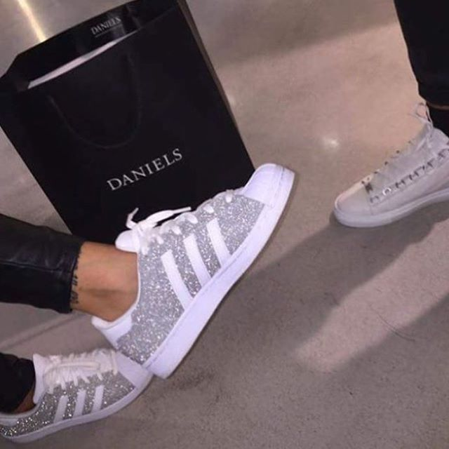 cheap for discount a0669 0c3b6 Image result for blinged out adidas