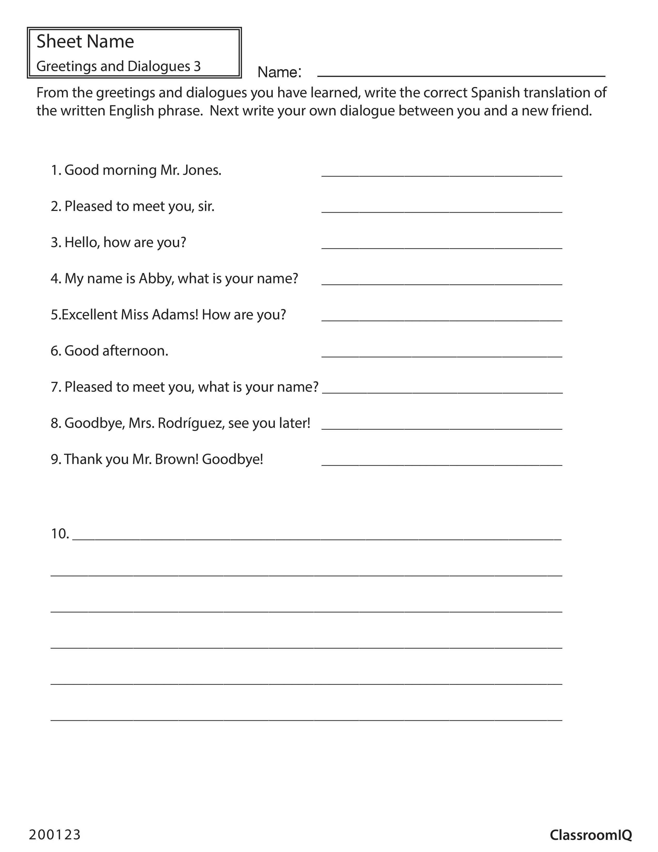 Free Worksheet Basic Spanish Worksheets 17 best images about spanish worksheets level 1 on pinterest body parts and words