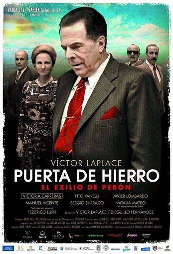 """Cine Sala """"Charles Chaplin"""": Puerta de Hierro,el exilio de Perón (2012)... Ingresa a la sala pulsando el Link: http://cine-sala-a01-jcp.blogspot.com/2014/04/puerta-de-hierro-el-exilio-de-peron.html"""