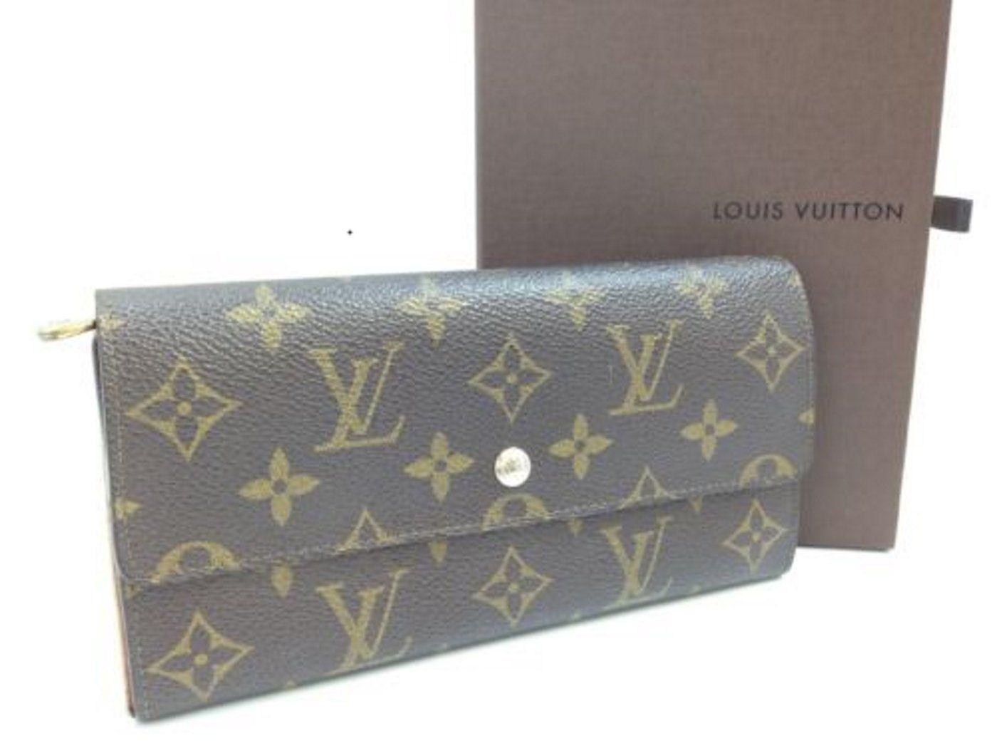 613c6e395f2 Louis Vuitton Portefeiulle Sarah Vintage Monogram Bifold Wallet ...
