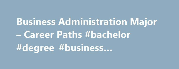 jobs for business administration degrees