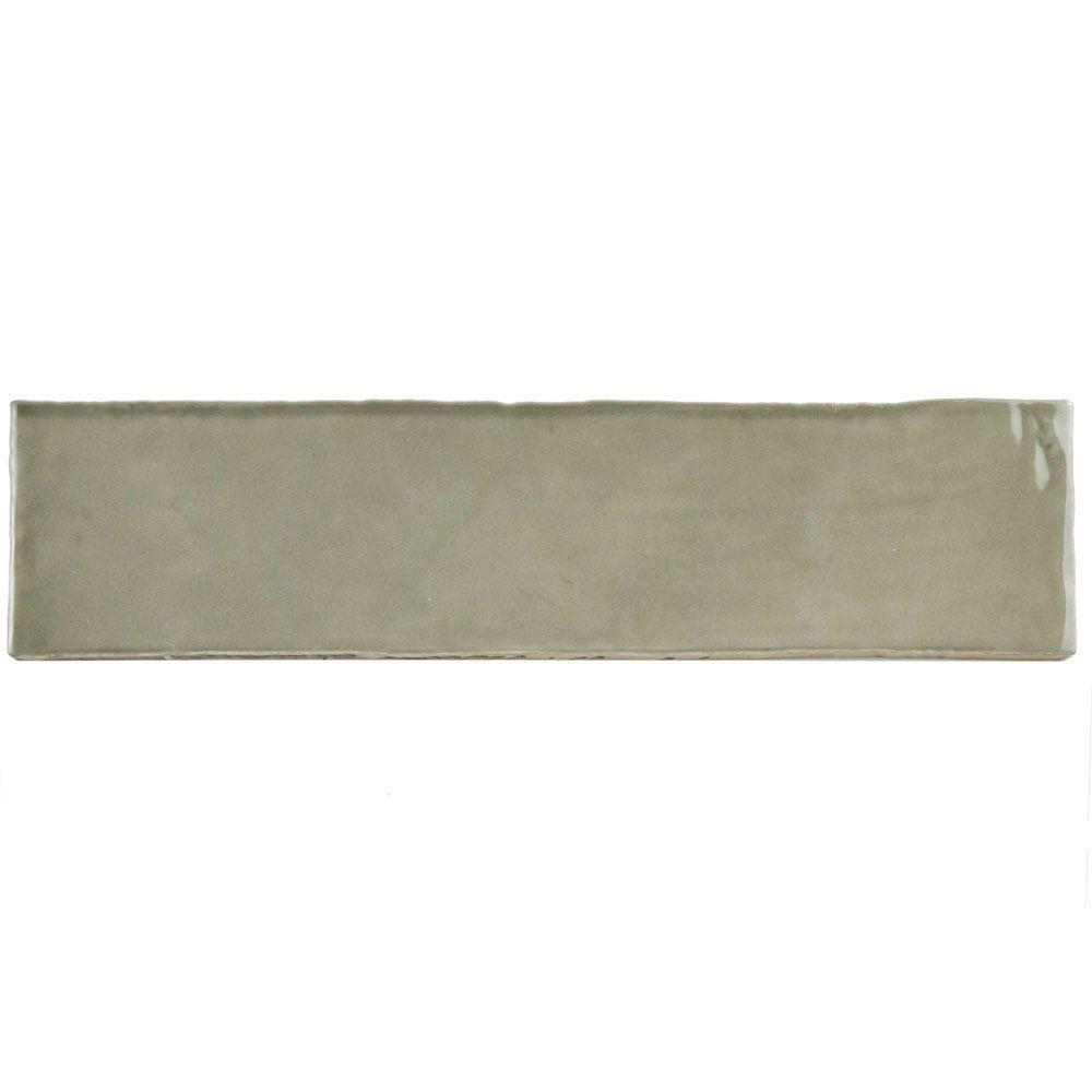 Merola tile chester grey 3 in x 12 in ceramic wall tile 1 sq ft merola tile chester grey 3 in x 12 in ceramic wall tile 1 sq ft pack dailygadgetfo Gallery