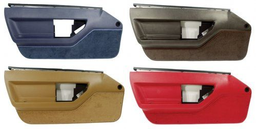 C4 Corvette Standard Door Panels Replacements After A Few Decades Of Daily Use Your Standard Door Panels On Your 1984 1989 C4 Cor Panel Doors Paneling Corvette