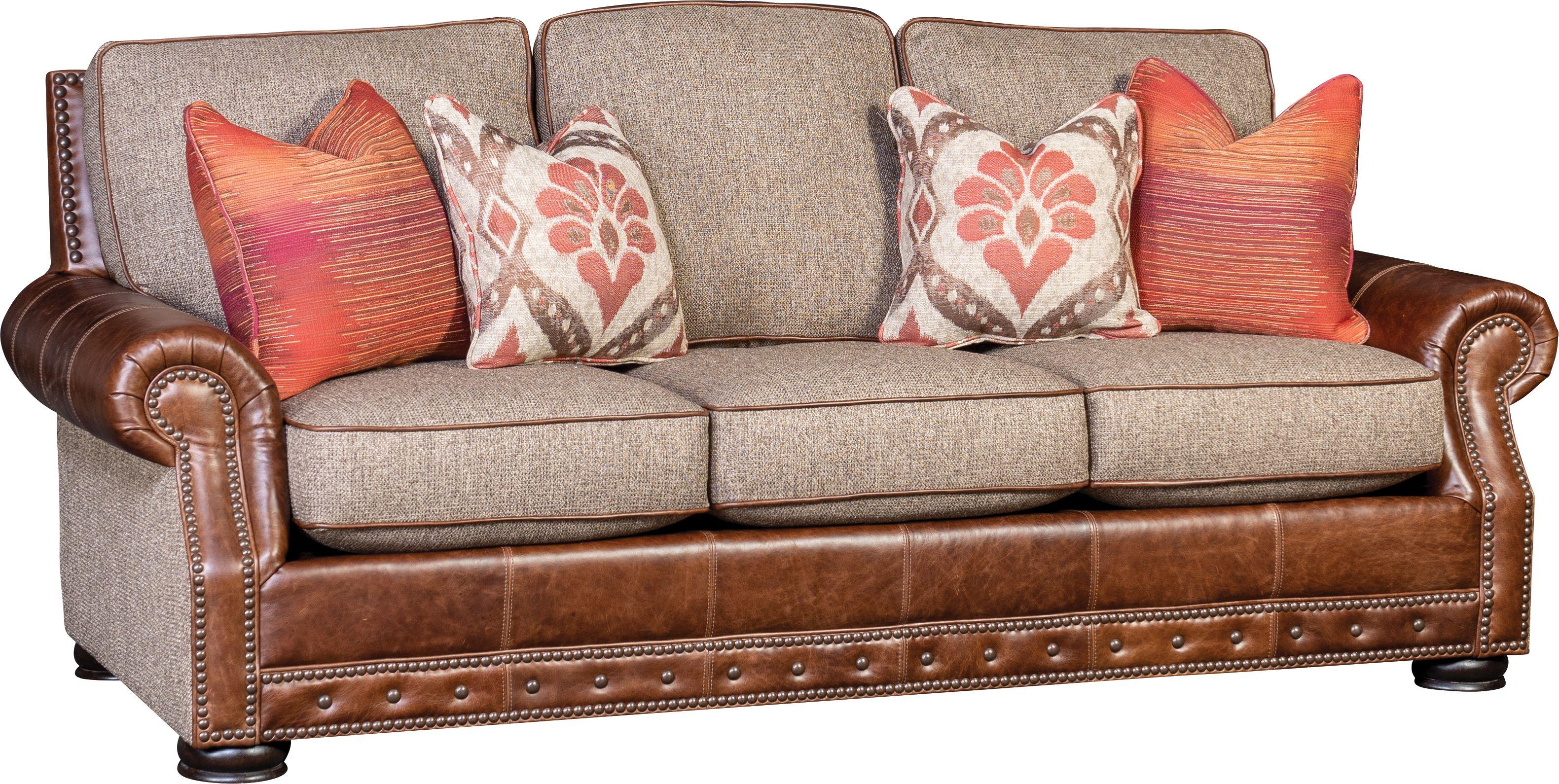 2900LF Sofa in Malibu Timber and Vacchetta Cocoa | Mayo ...