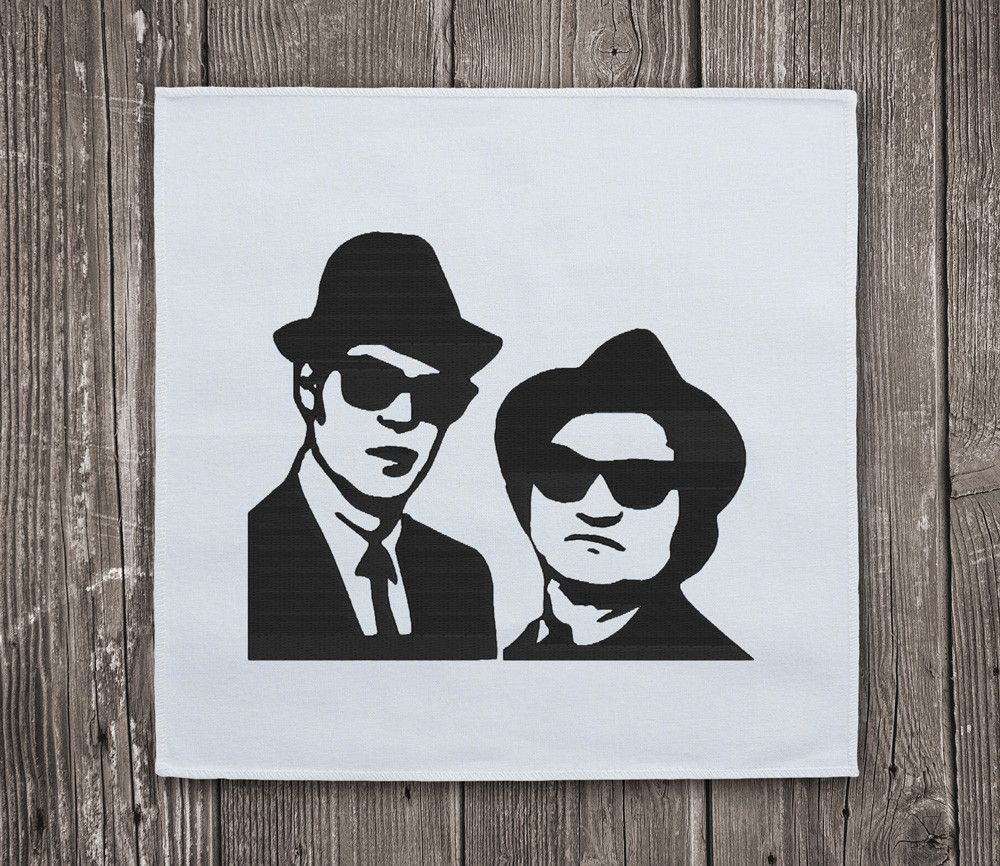 Blues Brothers- Embroidery Design Instant Download ...