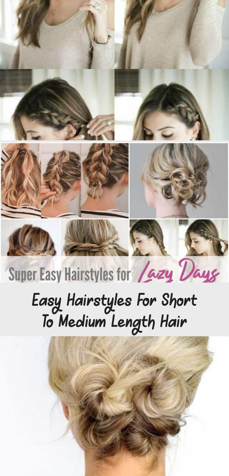 My Blog En Blog In 2020 Easy Hairstyles Short Hair Tutorial Super Easy Hairstyles