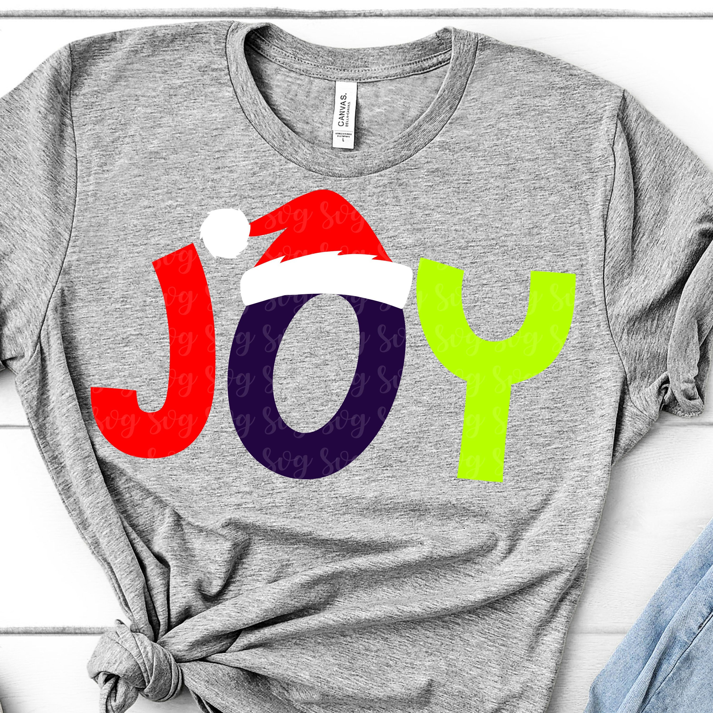 joy to the world svg, santa hat svg, christmas, saying svg