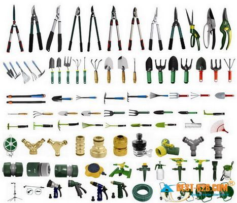 Klippur vopn pinterest for Horticulture tools names