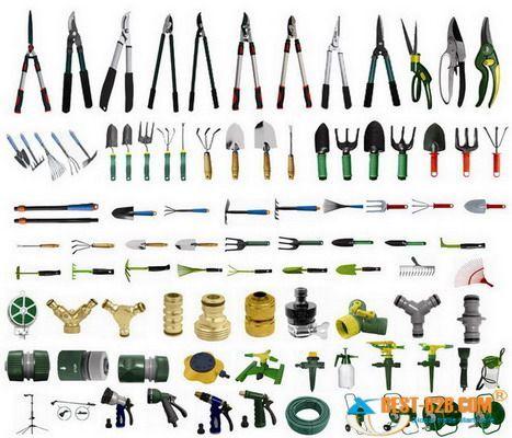 Klippur vopn pinterest for Gardening equipment names