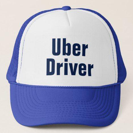 231c88c402d Men s Uber Driver Baseball Cap Blue Trucker Hat  dadhat  hatfordad   truckerhat