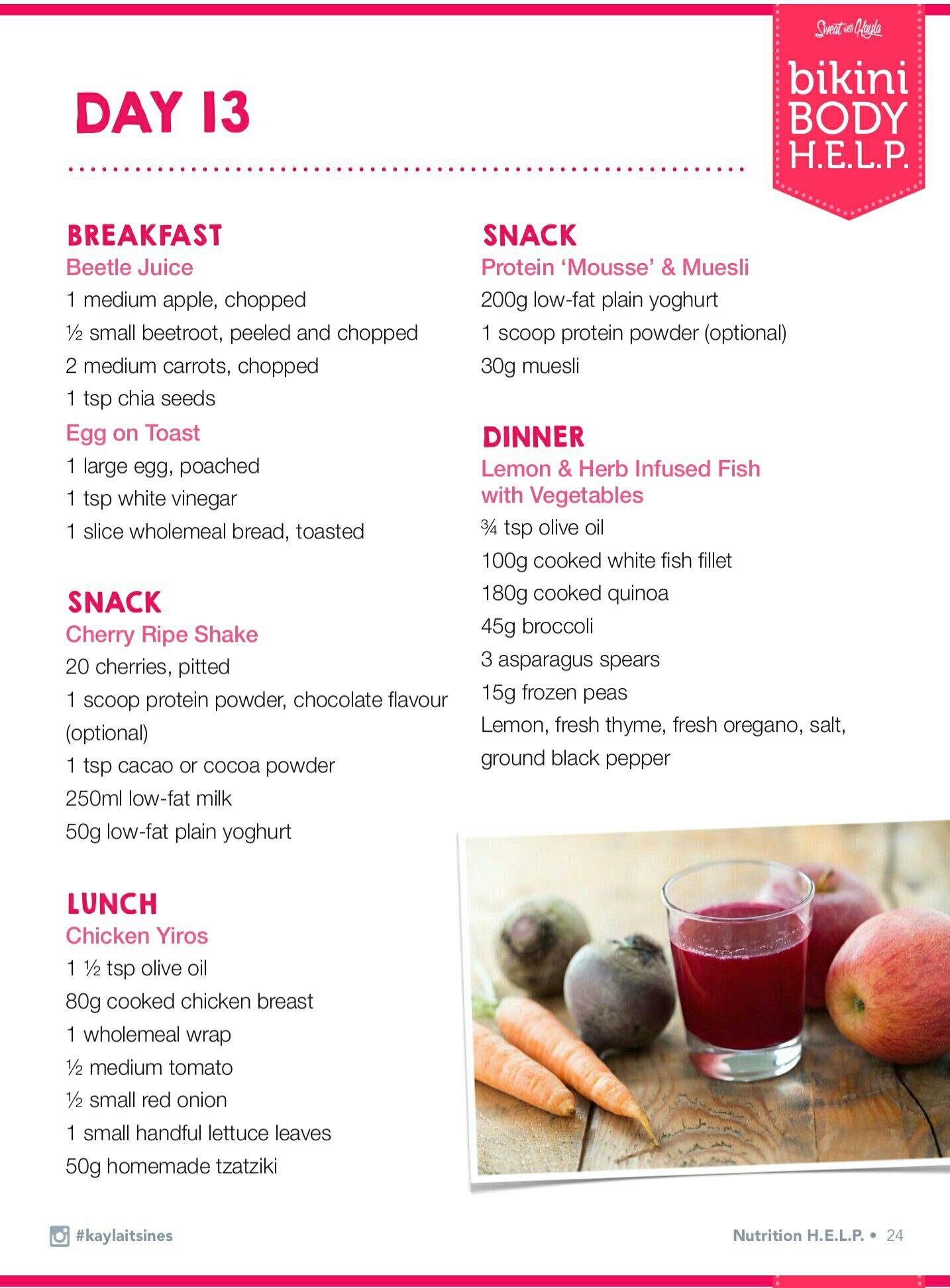 Pin By Jess Henry On Recipes Get Fit Eat Clean Bbg Kayla Itsines Nutrition Kayla Itsines Meal Plan Nutrition
