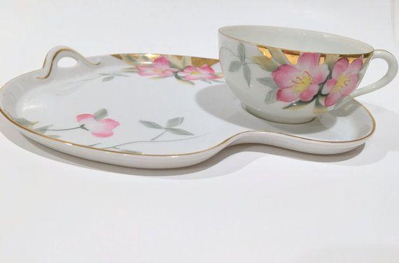 Tea /& Toast Mug /& Tray Snack Set