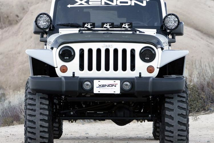 Xenon Jeep Wrangler Wide Flat Panel Fender Flares Jk Someday