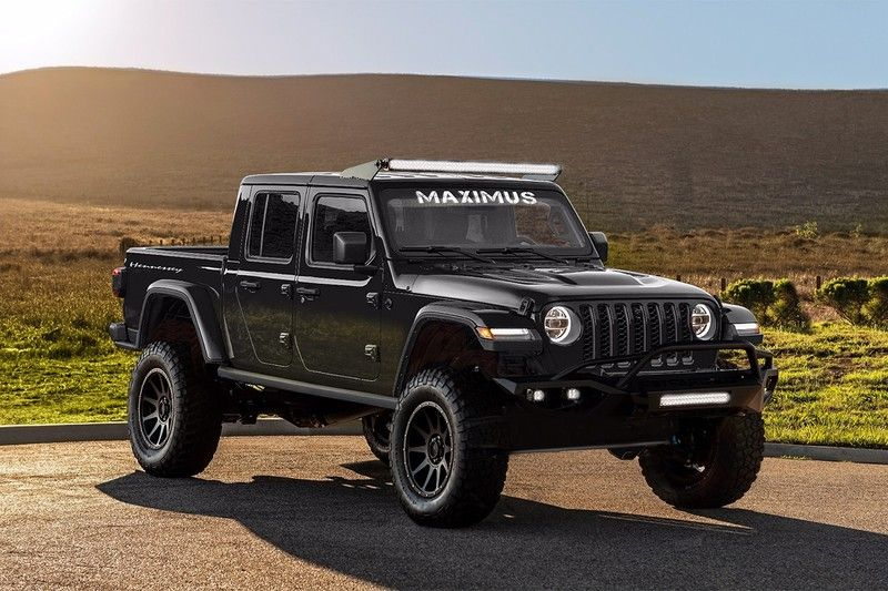 Hennessey Performance Builds First 1000 Bhp Jeep Gladiator Maximus Update Jeep Gladiator Hennessey Gladiator