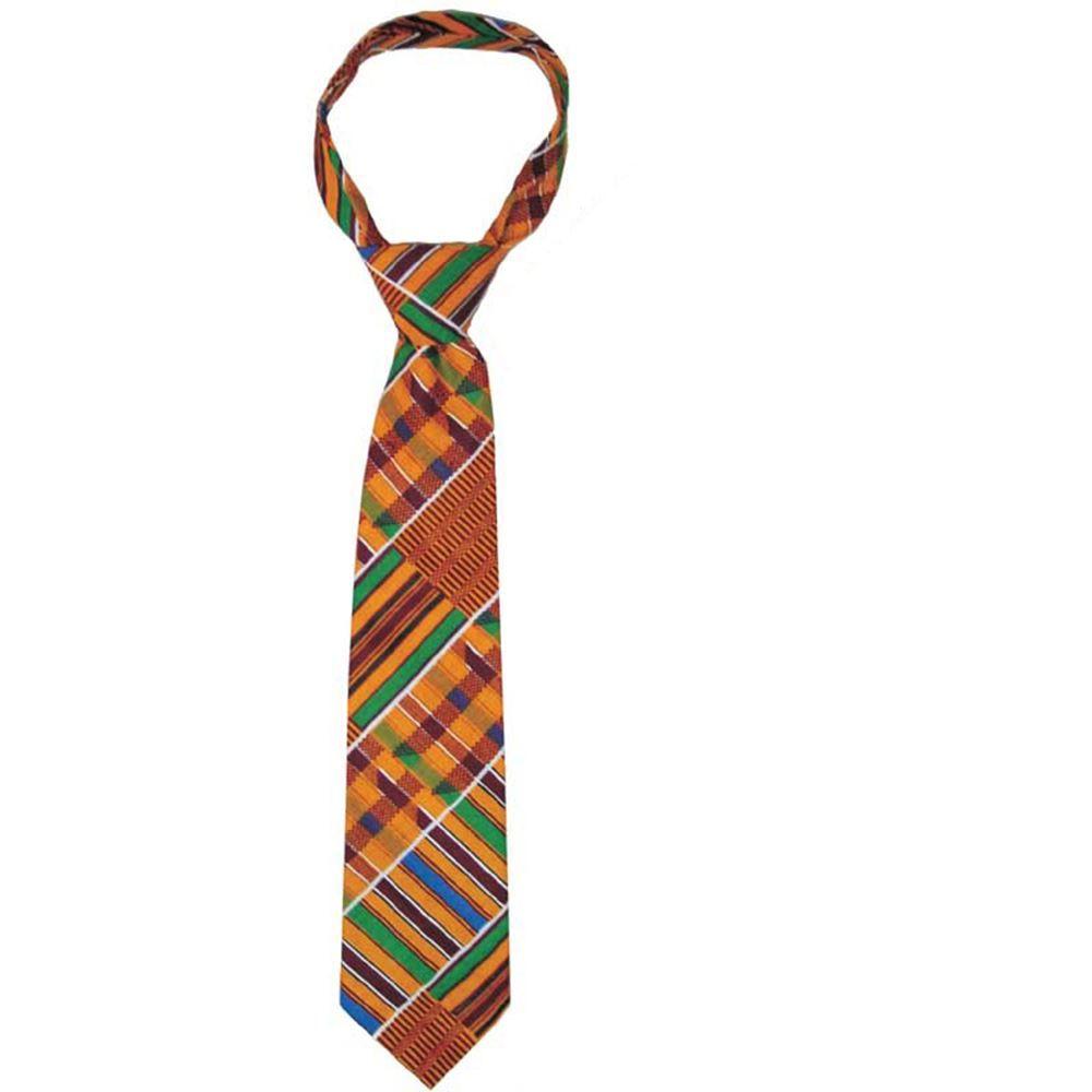 Style 1 Kente Tie Set