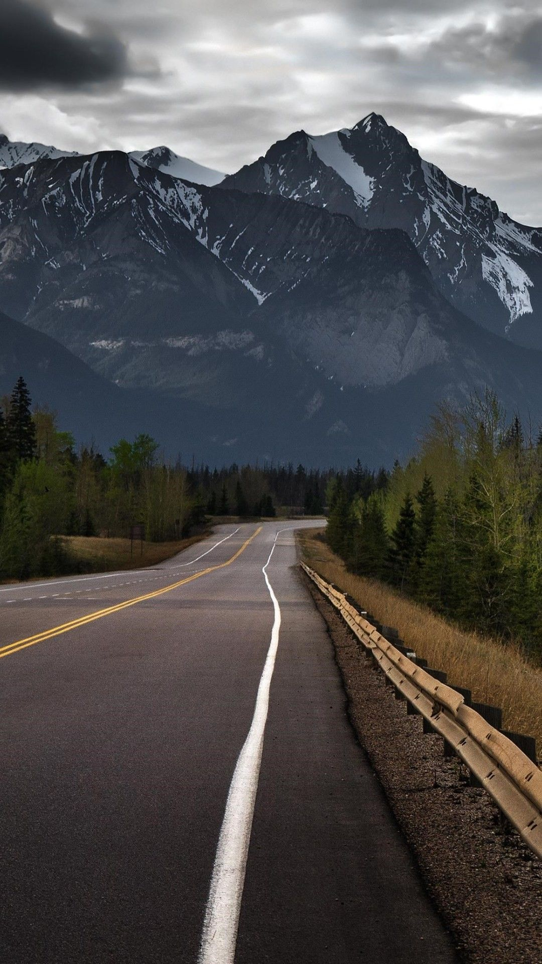 Road To Mountains Hd Wallpaper 1080x1920 Scenery Wallpaper