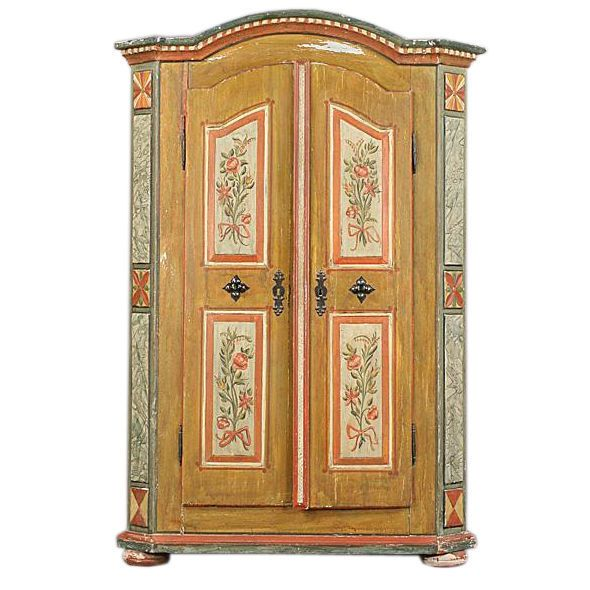 Late 19th Century European Armoire | From A Unique Collection Of Antique  And Modern Wardrobes And