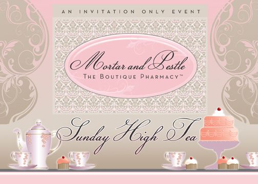 Hi Tea Invitation Cards Samples,Tea.Invitation Card