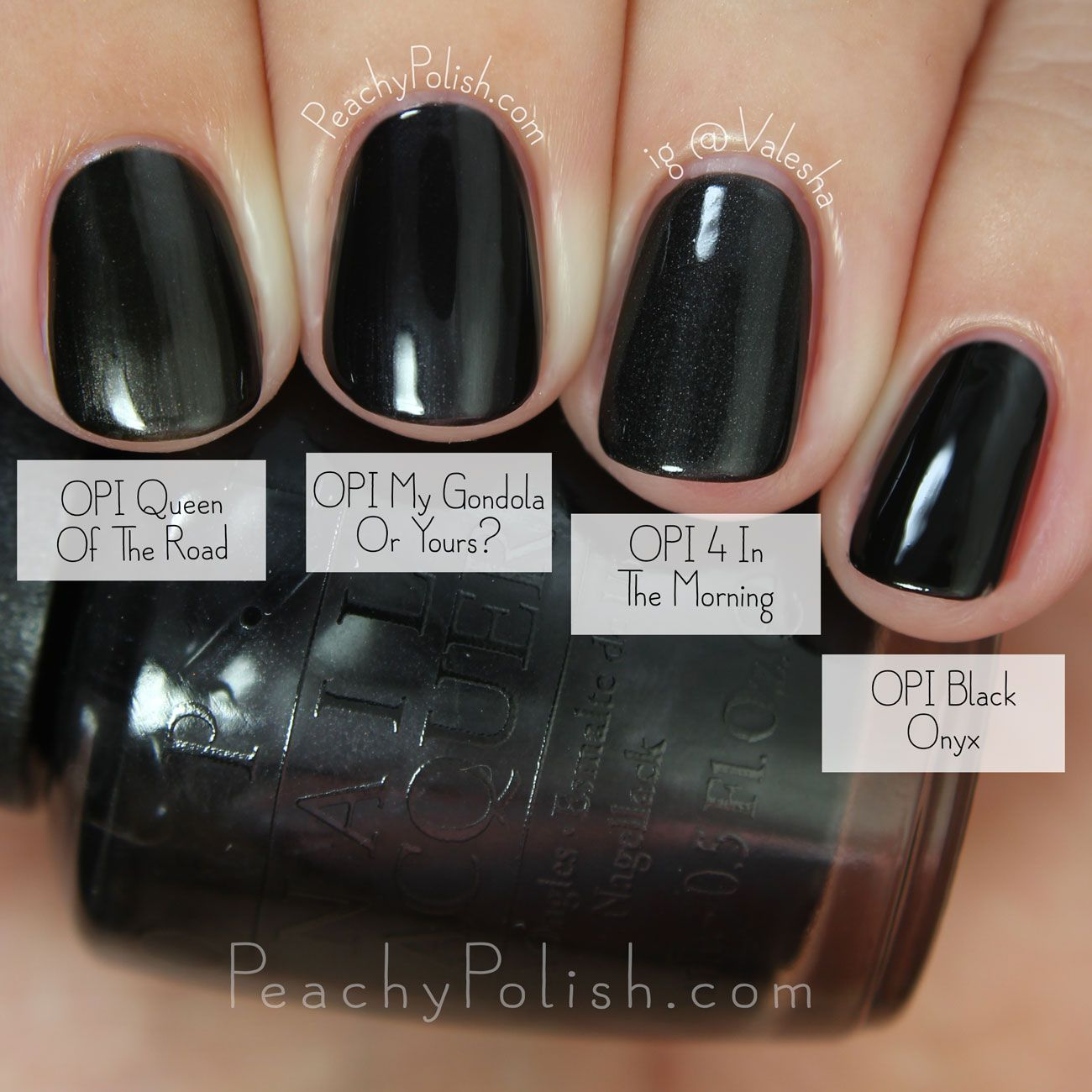 OPI My Gondola Or Yours? Comparison | Fall 2015 Venice Collection ...