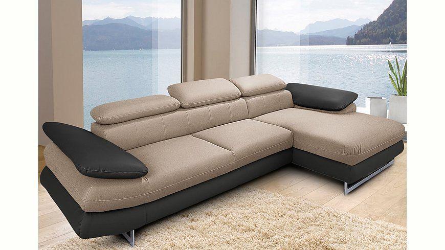 INOSIGN Polsterecke wahlweise mit Bettfunktion Jetzt bestellen unter - gemütliches sofa wohnzimmer