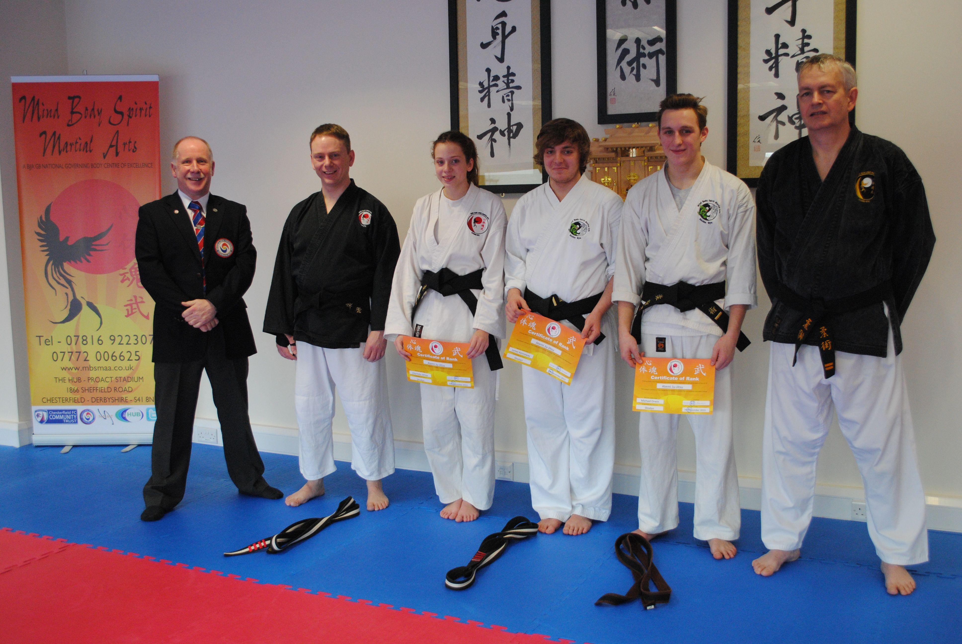 Successful 1st Dan S And Uke S Mind Body Spirit Martial