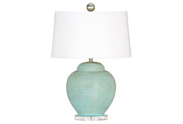 St Tropez Bay Table Lamp Pale Blue Table Lamp Lamp Beautiful Lamp