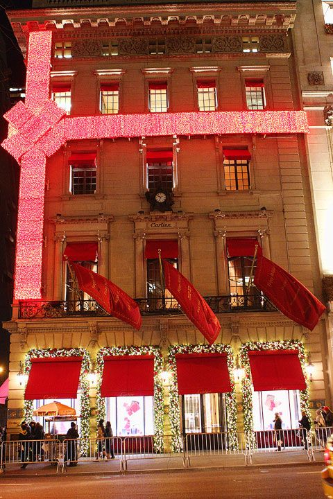 New York at Christmas | Cartier, City and Building
