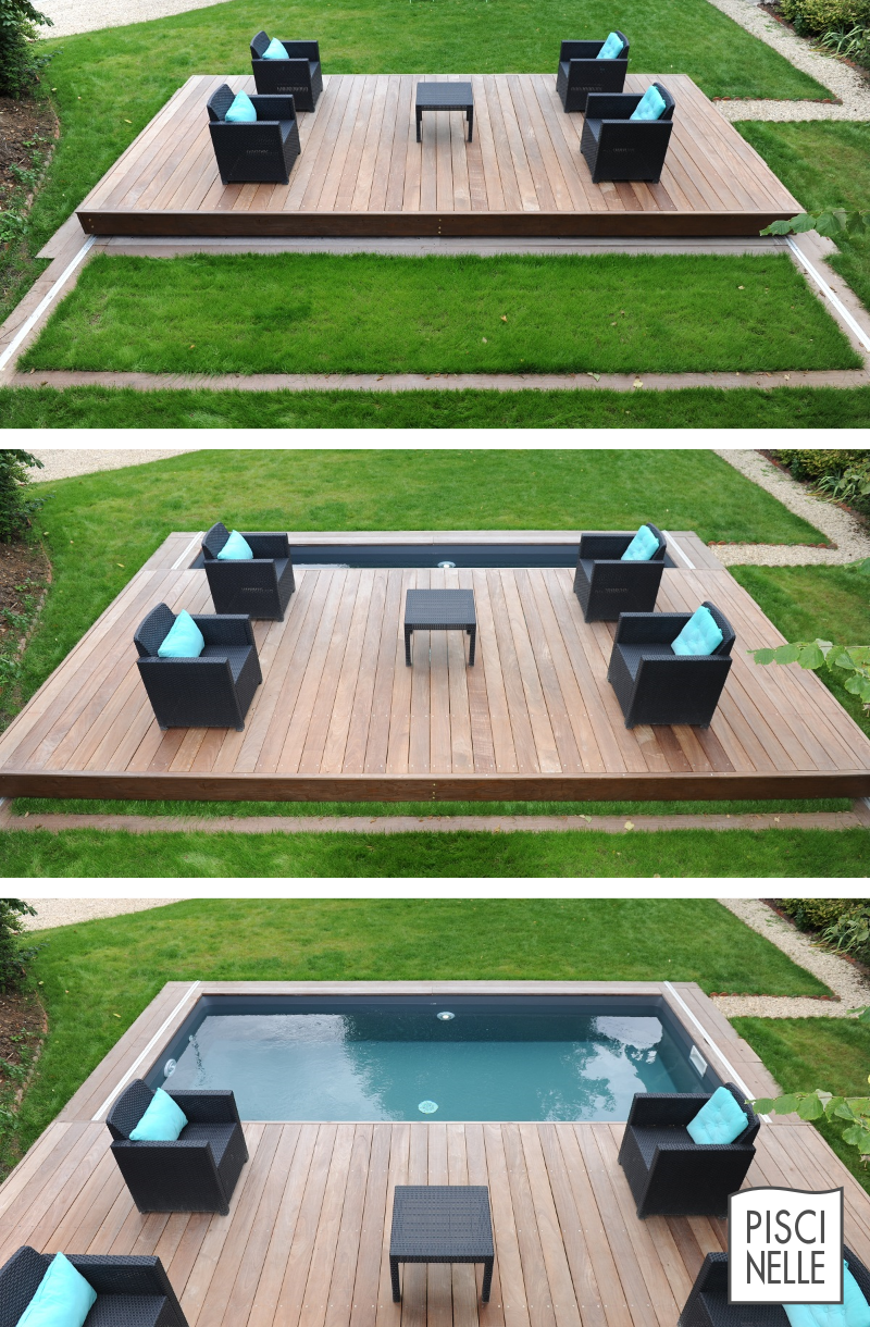 le rolling deck piscinelle est un abri de piscine qui permet de s curiser rapidement et. Black Bedroom Furniture Sets. Home Design Ideas